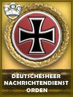 PZD-Deutschesheer Nachrichtendienst Ord. (Qtde: 1)