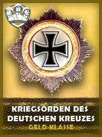 PZD - Kriegsorden Des Deutschen Kzs. GK (Qtde: 1)