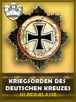 PZD - Kriegsorden Des Deutschen Kzs. SK (Qtde: 1)