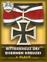 PZD - Ritterkreuz Des Eisernen Kreuzes3K (Qtde: 1)
