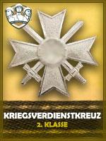 PZD - Kriegsverdienstkreuz 2. Klasse (Qtde: 1)