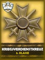 PZD - Kriegsverdienstkreuz 3. Klasse (Qtde: 1)