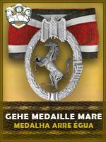 Medalha Arre-Égua (Qtde: 1)