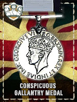 BAD - Conspicuous Gallantry Medal (Qtde: 1)