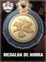ASC - Medalha de Honra (Qtde: 1)
