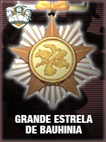 ASC - Grande Estrela de Bauhinia (Qtde: 1)