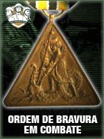 ASC - Ordem de Bravura em Combate (Qtde: 1)