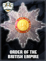 NTO - Order of the British Empire