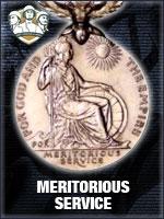 NTO - Meritorious Service (Qtde: 1)