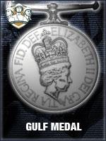 NTO - Gulf Medal (Qtde: 1)