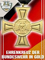 GER - Ehrenkreuz der Bundeswehr in Gold