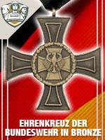 GER - Ehrenkreuz der Bundeswehr in Bronz (Qtde: 1)