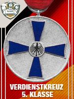 GER - Verdienstkreuz 5.Klasse (Qtde: 1)