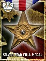 USMC - Silver Star Full Medal (Qtde: 1)