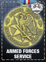 Allied - Armed forces service (Qtde: 1)
