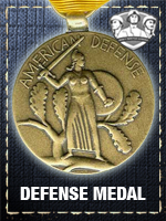 Allied - Defense Medal (Qtde: 1)