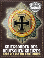 Axis - Kriegsorden Deutschen-Brillianten (Qtde: 1)