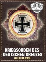 Axis - Kriegsorden Deutschen - Geld (Qtde: 1)