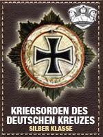 Axis - Kriegsorden Deutschen - Silber (Qtde: 1)