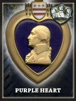 USMC - Purple Heart (Qtde: 1)