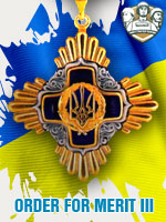 UKR - Order For Merit III (Qtde: 1)