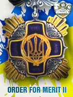 UKR - Order For Merit II (Qtde: 1)