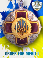 UKR - Order For Merit I (Qtde: 1)