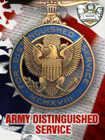 US - Army Distinguished Service (Qtde: 1)