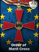 EU - Order of Merit Cross (Qtde: 1)