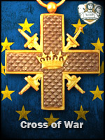EU - Cross of War (Qtde: 1)