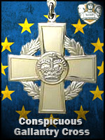 EU - Conspicuous Gallantry Cross