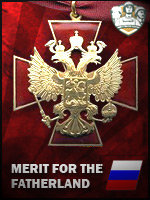 RUS - Marit for the Fatherland (Qtde: 1)
