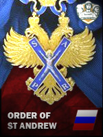 RUS - Order of st Andrew