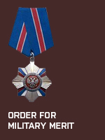 RUS - Order for Military Merit (Qtde: 1)