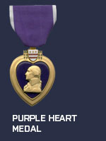 US - Purple Heart Medal (Qtde: 1)