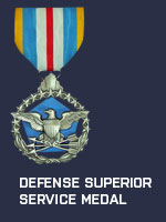 US - Defense Superior Service Medal (Qtde: 1)