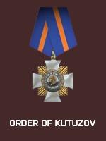 RUS - Order of Kutuzov (Qtde: 1)