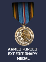 US - Armed Forces Expeditionary Medal (Qtde: 1)
