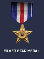 US - Silver Star Medal (Qtde: 1)