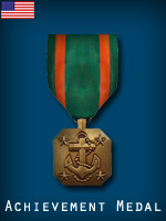 US - Achievement Medal  (Qtde: 1)