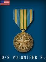 US - Outstanding Volunteer Service Medal (Qtde: 1)