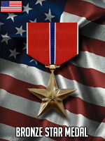 USA - Bronze Star (Qtde: 1)