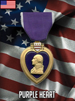 USA - Purple Heart (Qtde: 1)