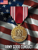 USA - Army Good Conduct Medal (Qtde: 1)