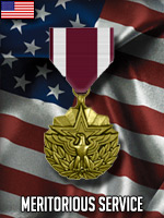 USA - Meritorious Service (Qtde: 1)