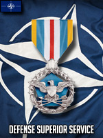 NATO - Defense Superior Service (Qtde: 1)