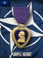 NATO - Purple Heart (Qtde: 1)