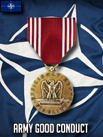 NATO - Army Good Conduct Medal (Qtde: 2)