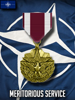 NATO - Meritorious Service (Qtde: 1)