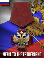 RUS - Merit of the Fatherland (Qtde: 1)